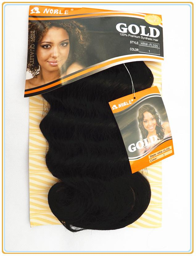 Gold Noble Beautiful Synthetic Weft - HRW-FL335