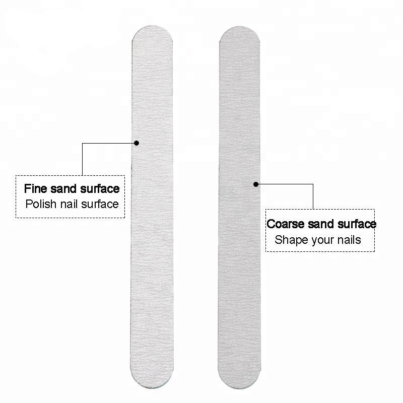 Double Side Round Nail File
