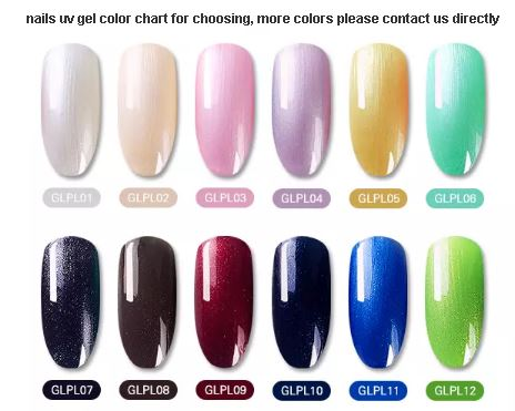 Gel Polish Glitter Nail art 7ml (Plaltinum UV Gel)