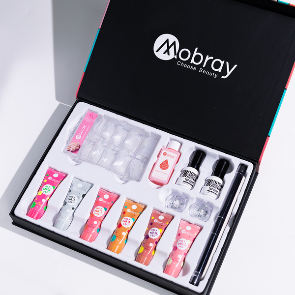 New and improved Poly Gel nail Enhancement Kit
