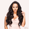 "24"" Body Wave  Indian Human Hair_Single Drawn"