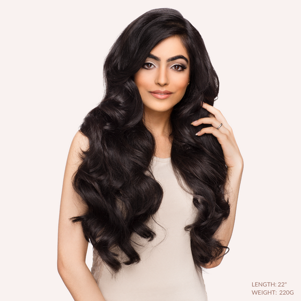 "20"" Body Wave  Indian Human Hair_Single Drawn"