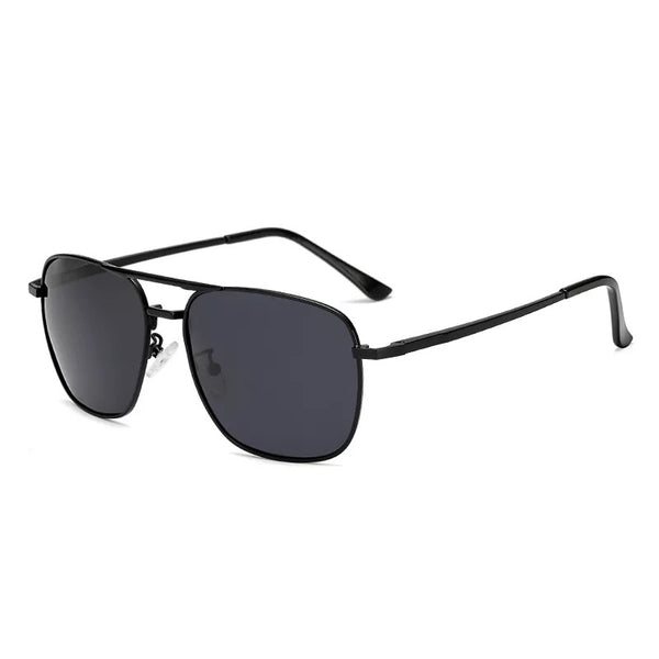 New Trend fashion black circled polarized sunglasses