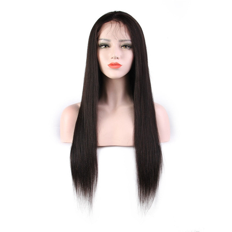 20'' 100% Brazilian virgin human hair lace front wigs
