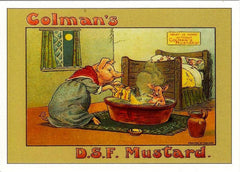 Advert for Colman's English Mustard in the 1800's