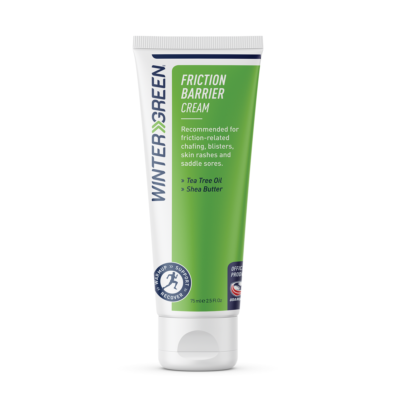 Wintergreen Friction Barrier Cream tube