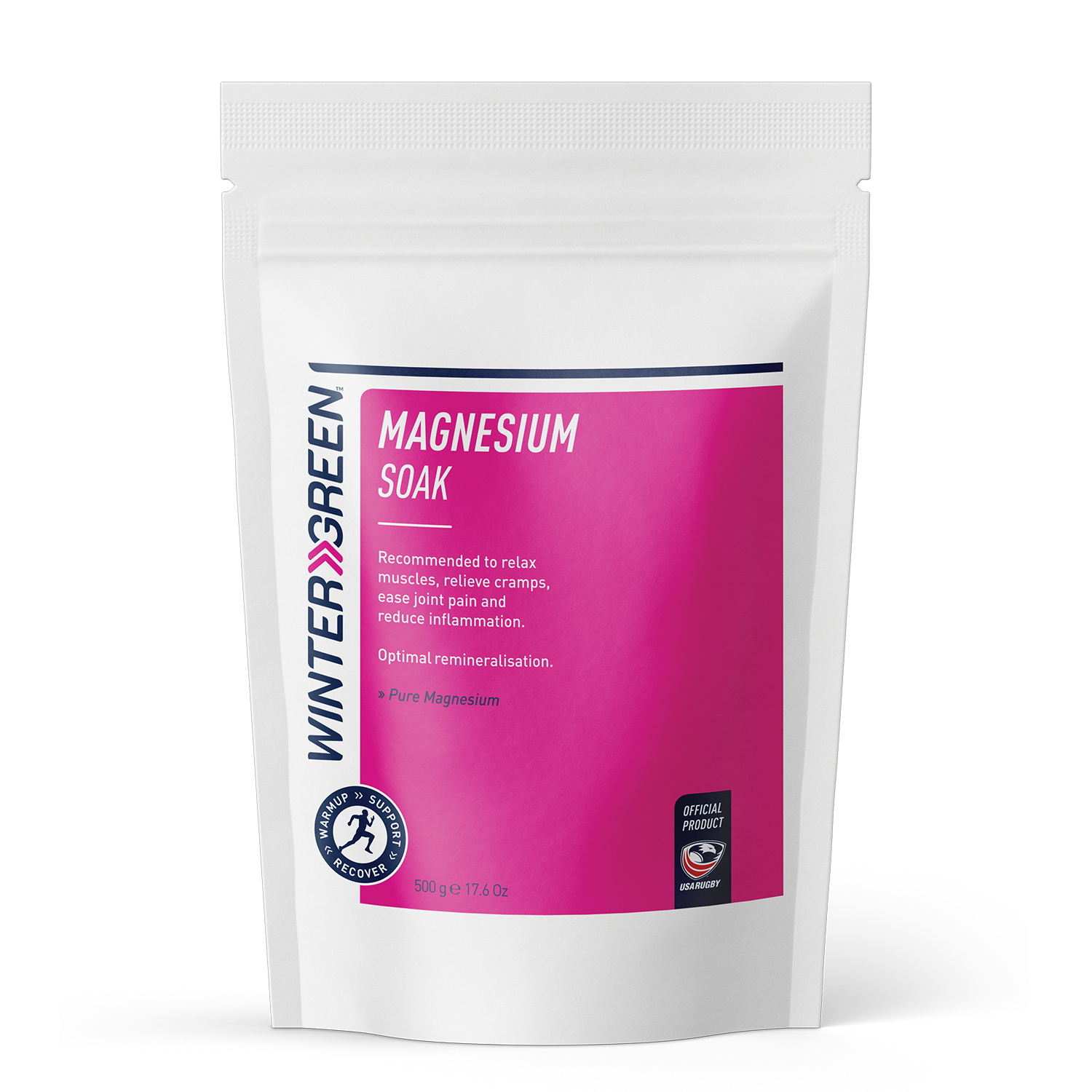 Wintergreen Magnesium Soak 500g packet