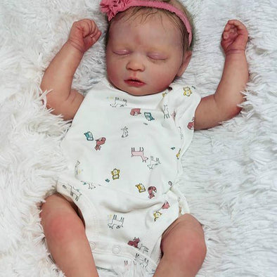 "17"" Oscar Reborn Baby Doll - Realistic And Lifelike"