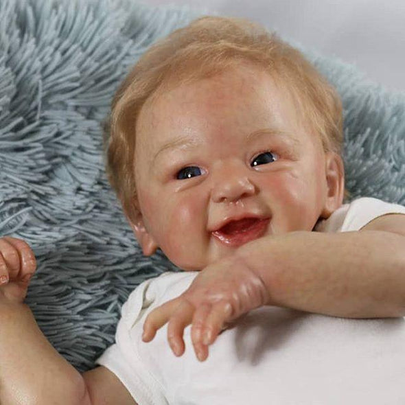 Realistic 21'' Norman New Silicone Reborn Baby Doll