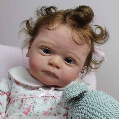 18'' Ophelia Realistic Reborn Baby Girl Doll