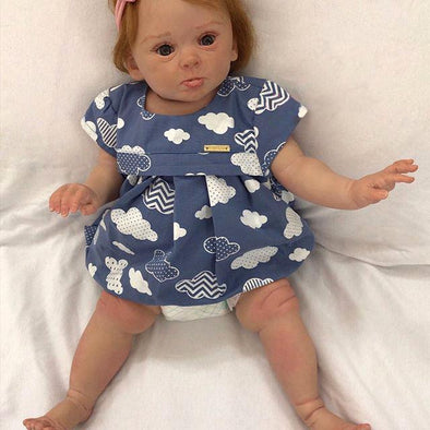Real life 22'' Little Naquan Reborn Baby Doll Girl