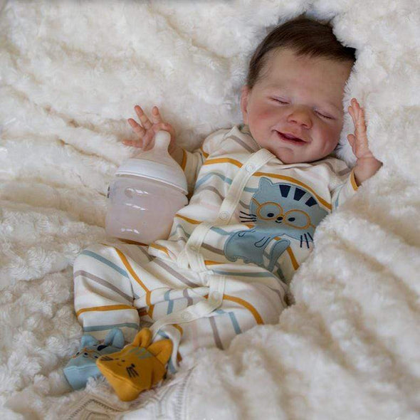 20'' Keira Reborn Baby Doll-Sleeping with Sweet Dreams That Look Real