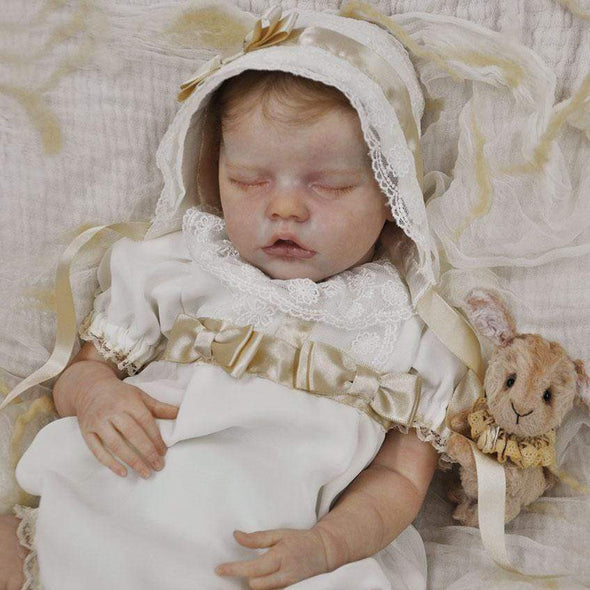 reborndollsshop new arrival2 17'' Realistic Cute Melany Reborn Baby Dolls-Great For Christmas Gift