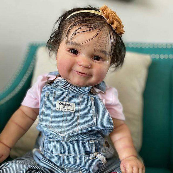 reborndollsshop Series Maddie 22'' Little Bennett Cute Reborn Baby Doll -Realistic And Lifelike