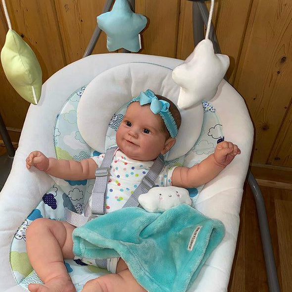 reborndollsshop Series Maddie 22'' Little Cole Cute Reborn Baby Doll -Realistic And Lifelike