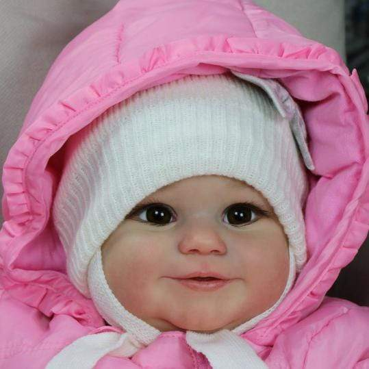 reborndollsshop Series Maddie 22'' Little Kailani Cute Reborn Baby Doll -Realistic And Lifelike