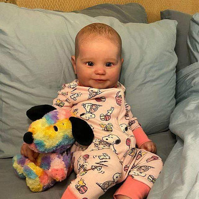 reborndollsshop Series Maddie 22'' Little Ryker Cute Reborn Baby Doll -Realistic And Lifelike