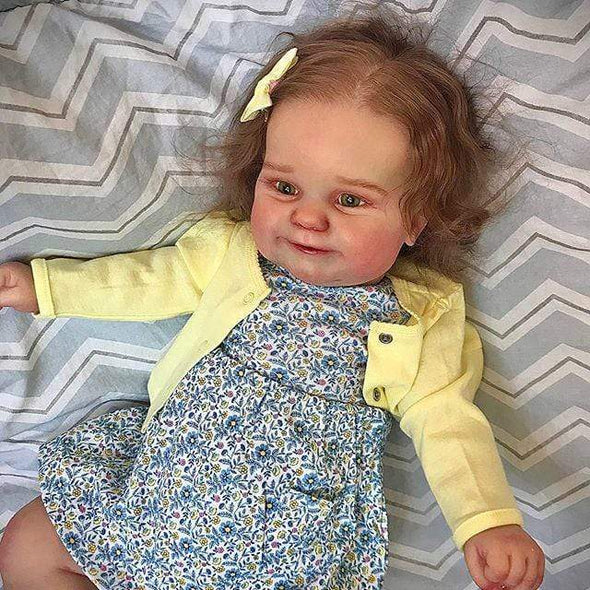 reborndollsshop Series Maddie 22'' Little Zachary Cute Reborn Baby Doll -Realistic And Lifelike