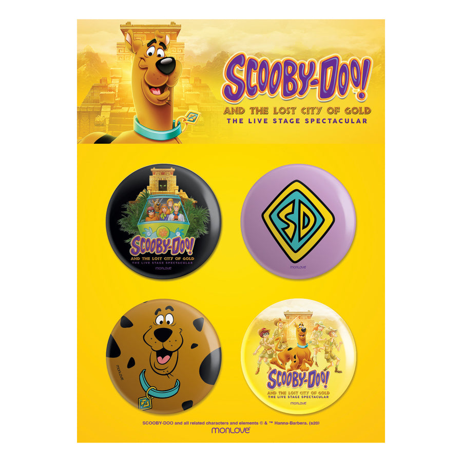 Scooby-Doo! and The Lost City of Gold – Button Set