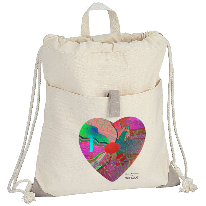 #MadewithMonlove Recycled Drawstring Bag