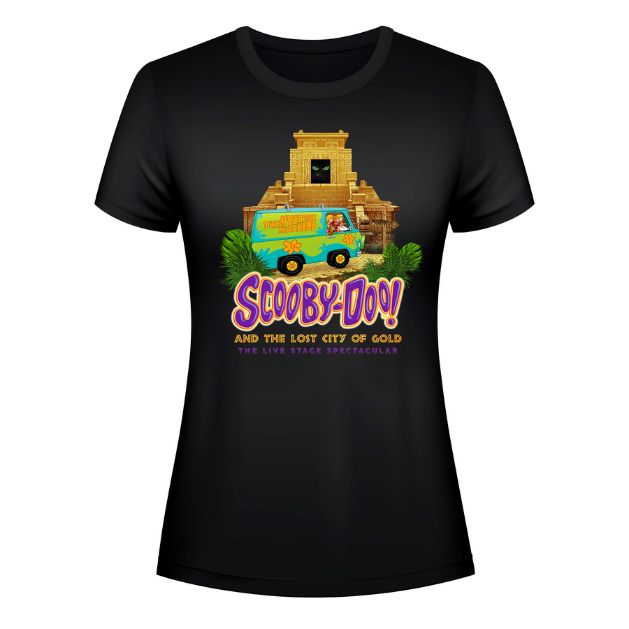 Scooby-Doo! and The Lost City of Gold –  Women's Mystery Machine T-Shirt
