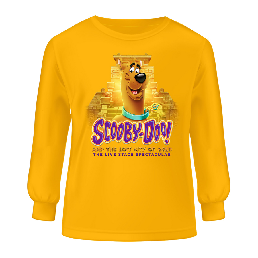 Scooby-Doo! and The Lost City of Gold – Youth Long Sleeve T-Shirt
