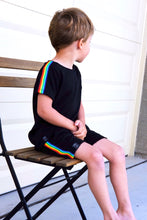 Load image into Gallery viewer, Retro Rainbow Stripe Shorts