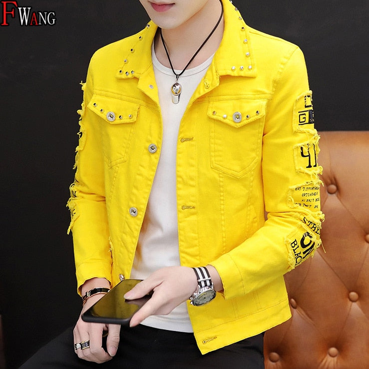 MEN'S Wear Summer New Style Cowb Spring And Autumn Jeans Coat Men's Korean style Fashion Students Handsome Versatile Jacket|Jackets