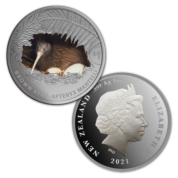 Kiwi 1oz Silver Proof Coin