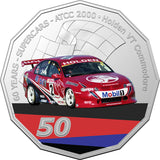 60 Years of Supercars 2020 50c Colour Unc 9 Coin Set