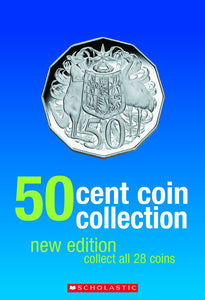 Scholastic 50c Coin Collection Album