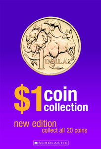 Scholastic $1 Coin Collection Album