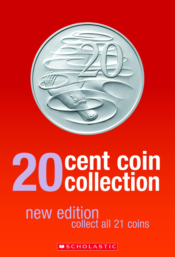 Scholastic 20c Coin Collection Album