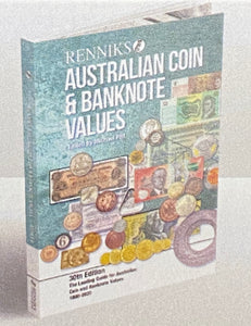 Renniks Australian Coin & Banknote Values 30th Edition (Softcover)