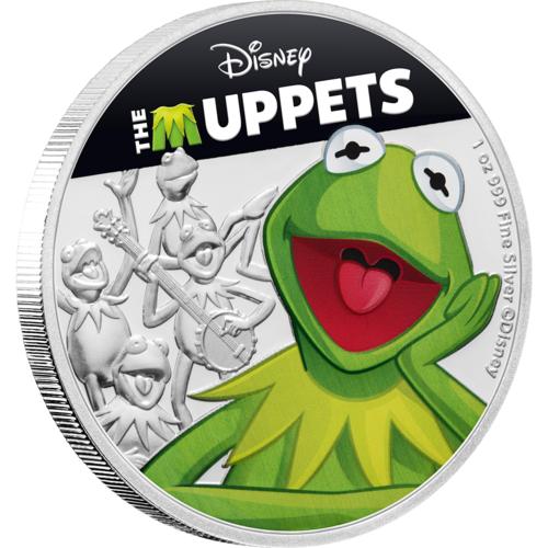 The Muppets (Disney) - Kermit 2019 1oz Silver Coin