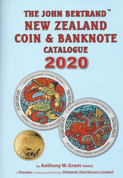 The John Bertrand New Zealand Coin and Banknote Catalogue 2020