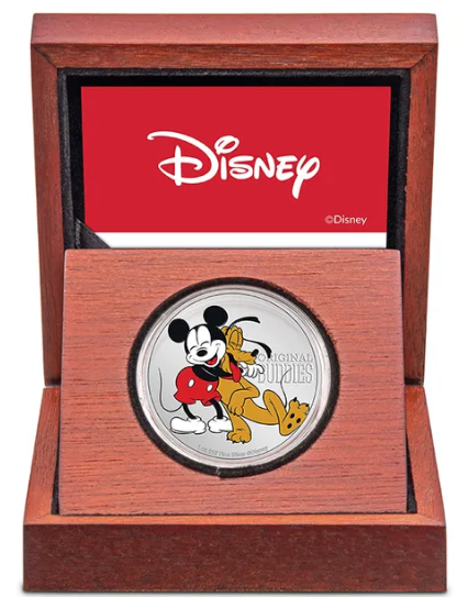 Disney Pluto's 90th 2020 1oz Silver