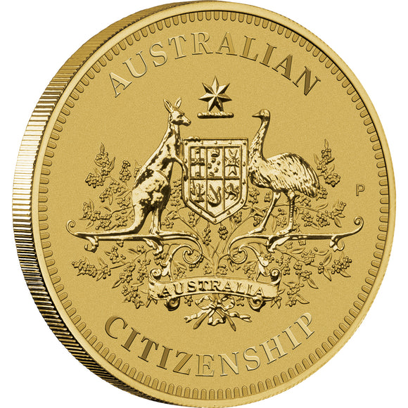 Australian Citizenship 2021 $1 Coin in Card