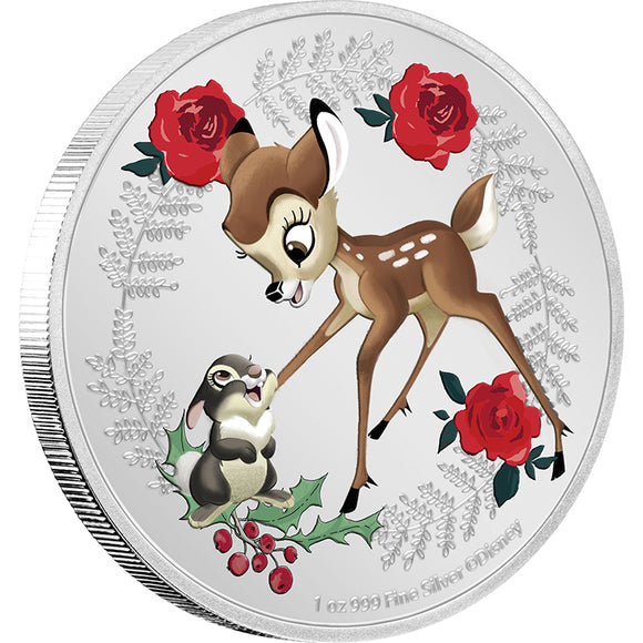 Disney - Season's Greetings 2020 1oz Silver
