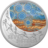 Star Dreaming - Seven Sisters $1 Coloured 1/2oz Silver Proof (2020)