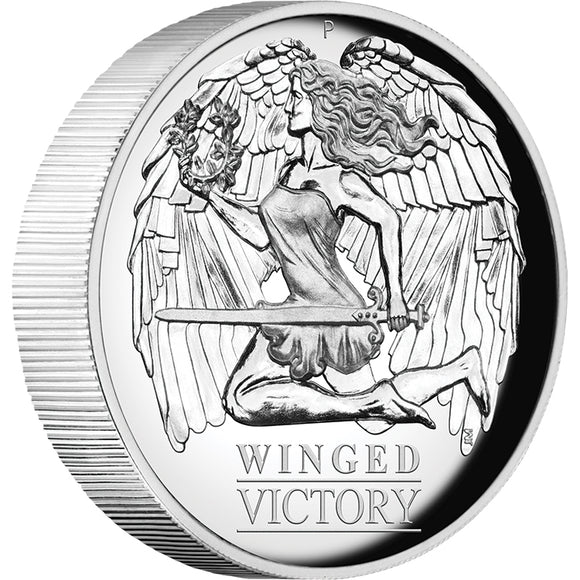 Winged Victory 1oz Silver Proof High Relief Coin