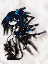 "Load image into Gallery viewer, [PRE-ORDER] Black Rock Shooter - Inexhaustible ver. 4"" Limited Edition Hard Enamel Pin"