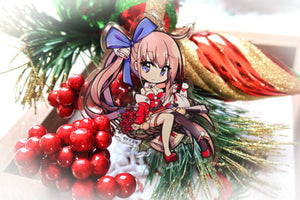 "[LIMITED SEASONAL] Girls' Frontline - Christmas FAL 3"" (Double Sided) Acrylic Charm"