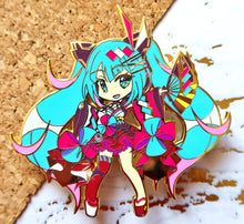 "Load image into Gallery viewer, [Limited Edition] VOCALOID - Magical Mirai 2020 Pack 4"" Hard Enamel Pin PRE-ORDER"