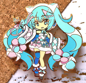 "[Limited Edition] VOCALOID - Winter Magical Mirai 2020 4"" Hard Enamel Pin PRE-ORDER"