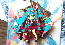 "Load image into Gallery viewer, [Limited Edition] VOCALOID - Magical Mirai 2020 4"" Hard Enamel Pin PRE-ORDER"
