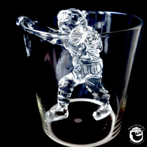 Climbing Hard Hat Diver for Beer Glass - Clear - Beneath the Sea