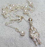 Siebe Gorman Deep Sea Diver Pendant with Freshwater Pearls - Beneath the Sea