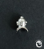 Sterling Silver Siebe Gorman Diving Helmet Pendant Charm - Beneath the Sea