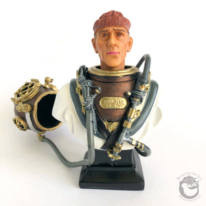 Mark V Diver Bust Hand Painted Cold-Cast Bronze - Beneath the Sea